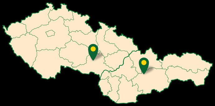 Mapa prodajní